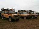 Camel Trophy Land Rovers